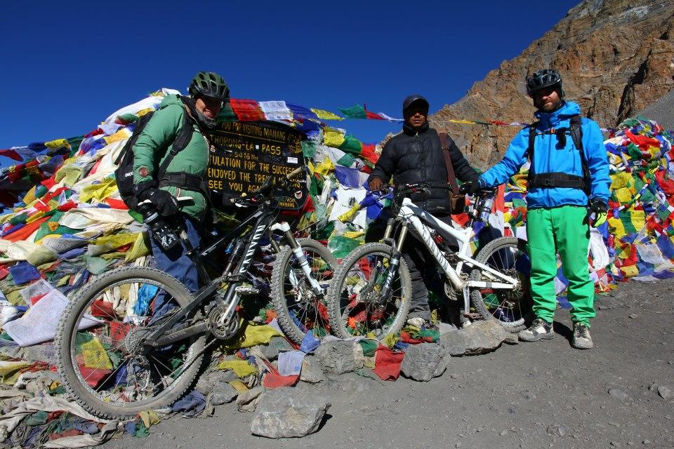Am Thorung La Pass auf 5416 m